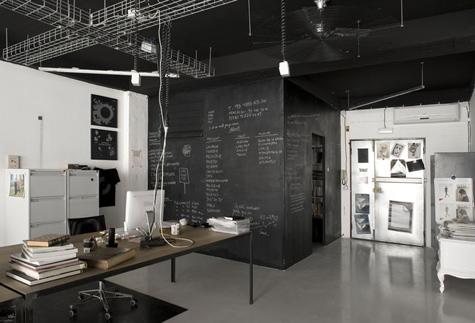 Lugares de trabajo cuatrotipos for Estudios minimalistas decoracion